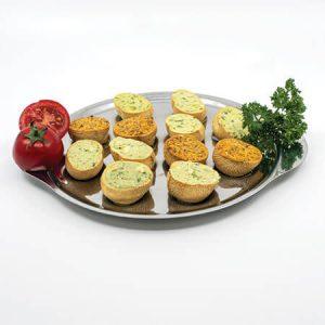 Assiette de Croquilles aux 3 saveurs