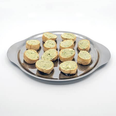 Assiette de Croquilles au bleu d'Auvergne